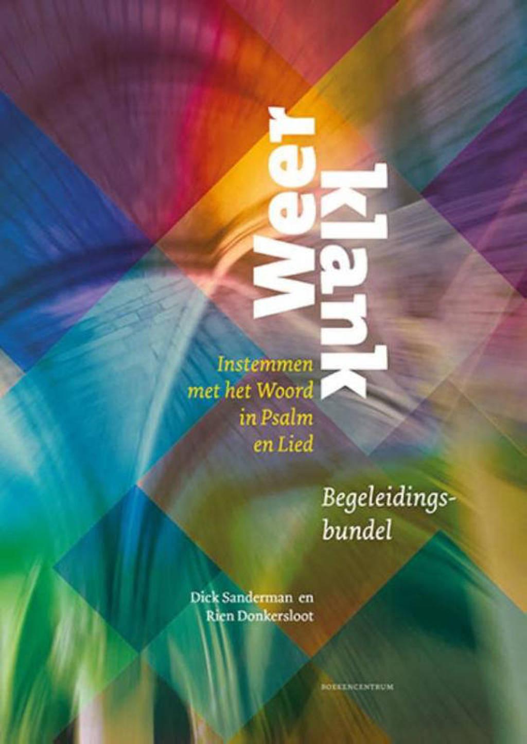 Weerklank orgel (piano) begeleidingsbundel - Dick Sanderman en Rien Donkersloot