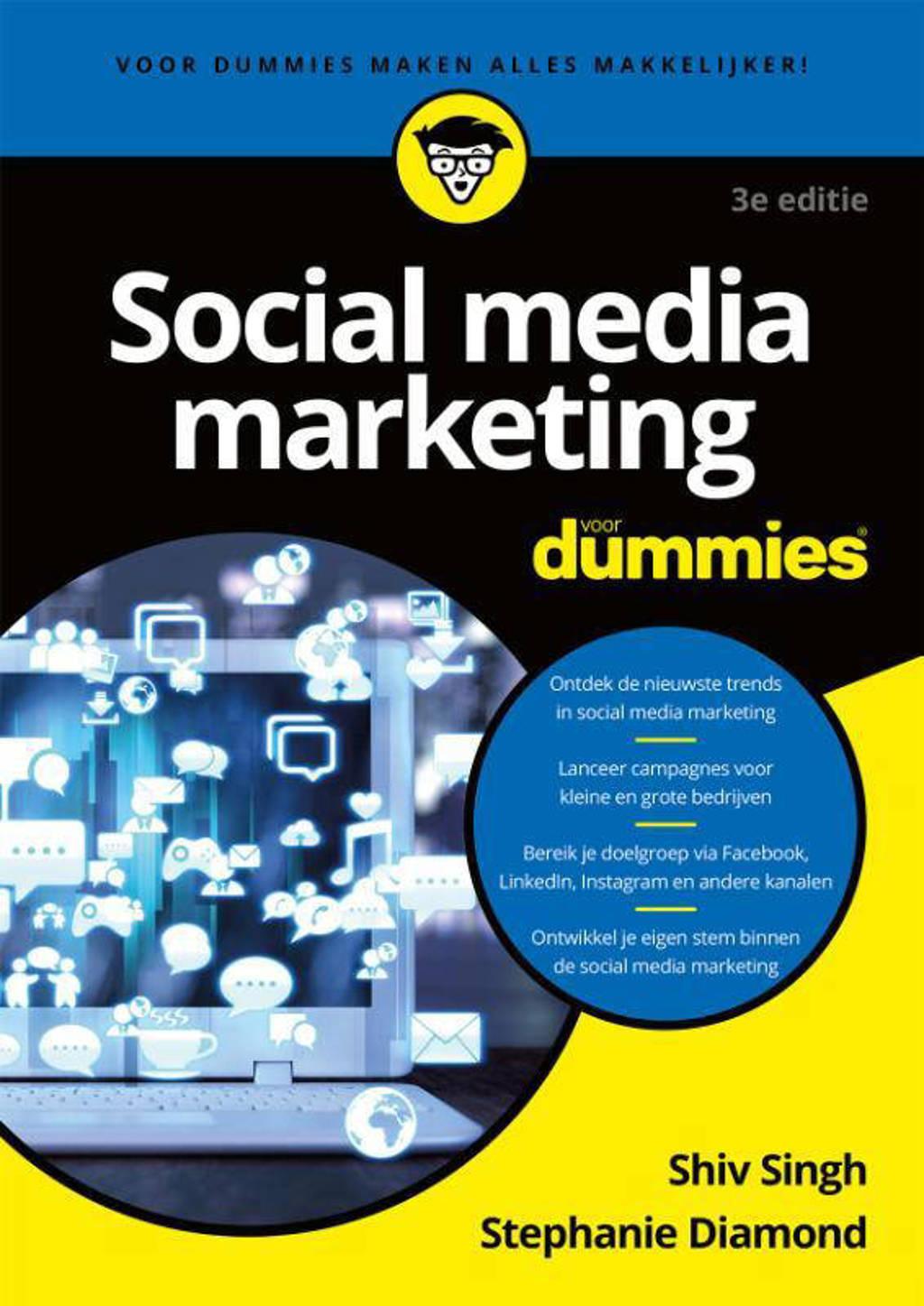 Voor Dummies: Social media marketing voor Dummies - Shiv Singh en Stephanie Diamond