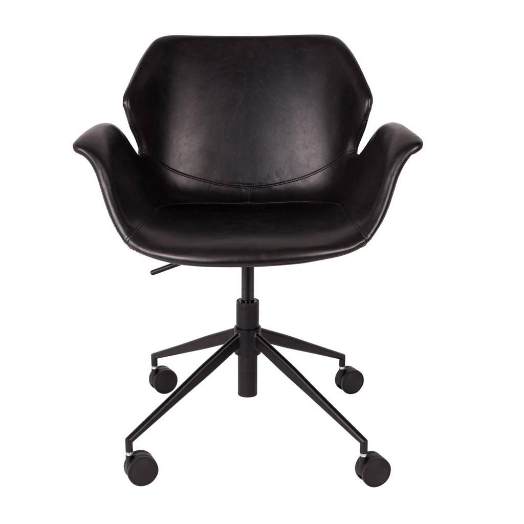 Fijne Zwarte Bureaustoel.Zuiver Nikki Bureaustoel Wehkamp