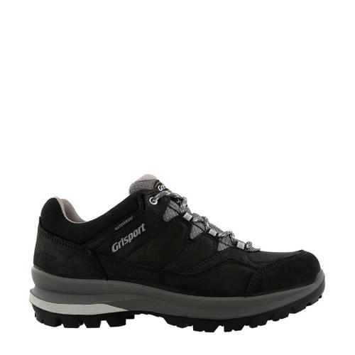 Grisport nubuck outdoor schoenen Aspen Low zwart kopen