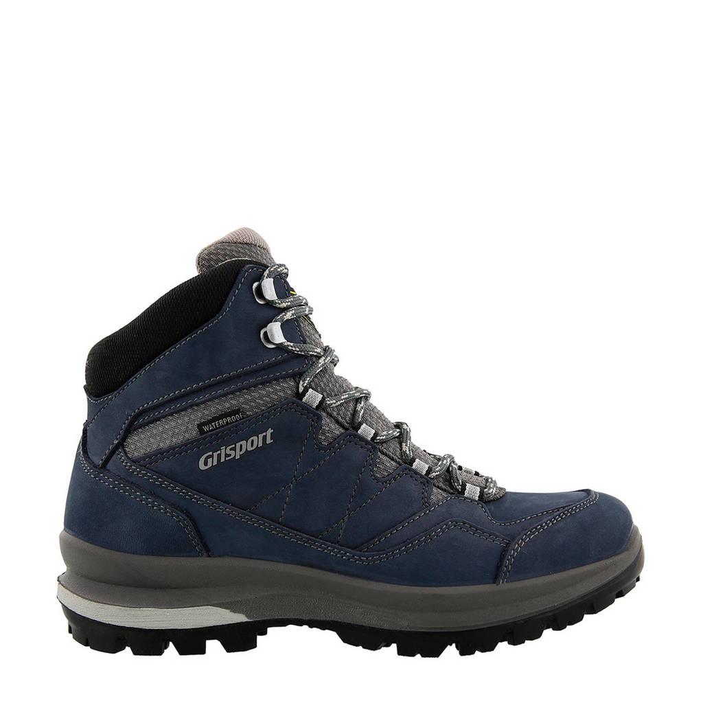 Grisport  Aspen Mid nubuck wandelschoenen, Donkerblauw