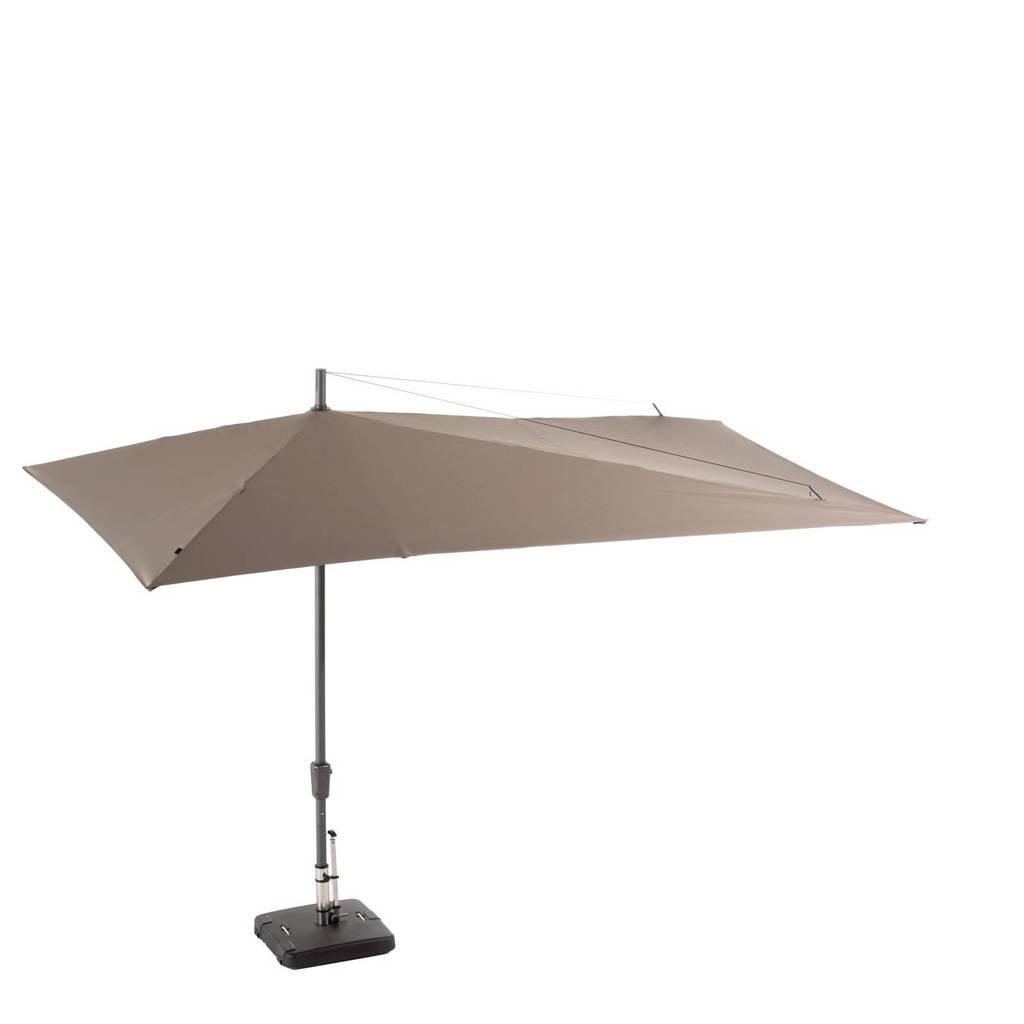 Madison parasol Asymetriq Sideway (360x220 cm), Taupe
