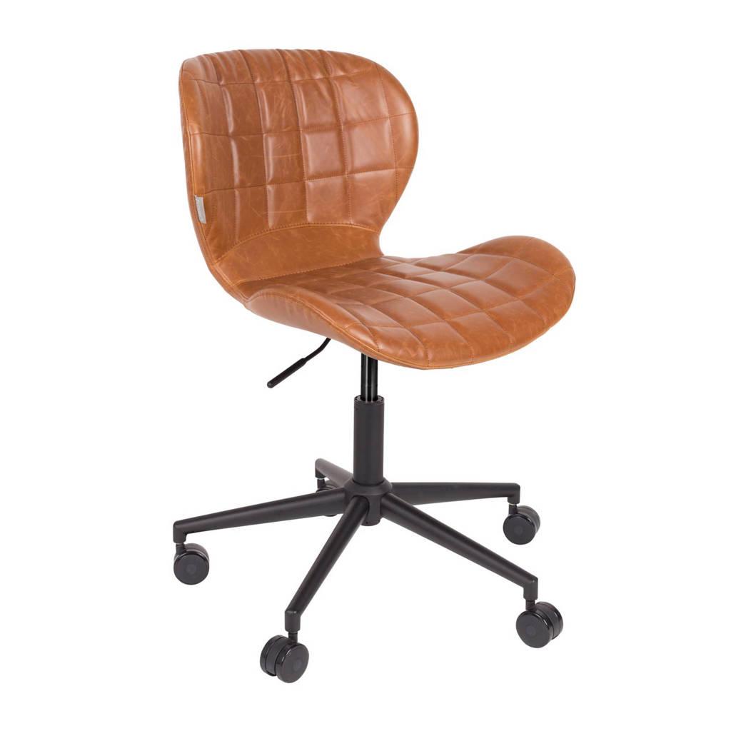Zuiver OMG Office bureaustoel, Bruin