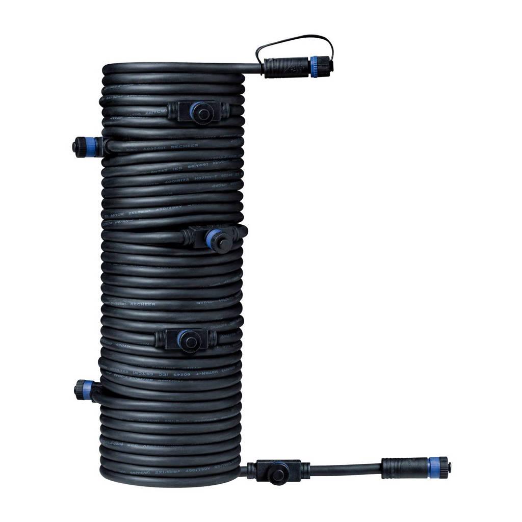 Paulmann Plug & Shine 24V verbindingskabel Plug & Shine (15 meter), Zwart