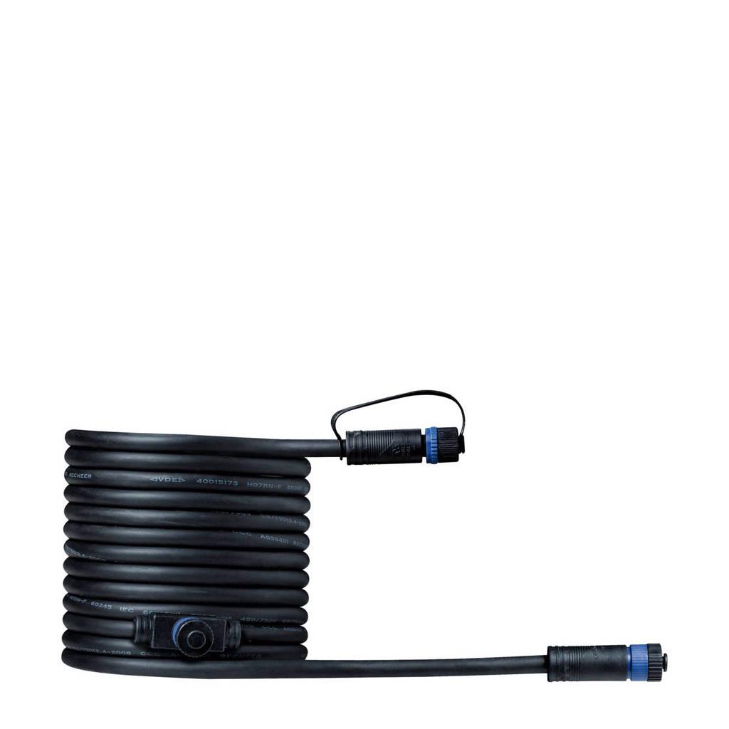 Paulmann Plug & Shine 24V verbindingskabel Plug & Shine (5 meter), Zwart