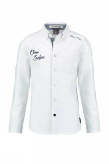 slim fit overhemd Osset wit