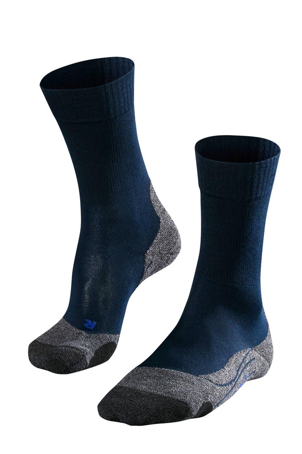 Falke Sport TK2 Cool wandelsokken, Marine/grijsmelange/zwart