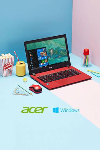 perfect voor school korting op Acer laptops nu tot 160.- korting