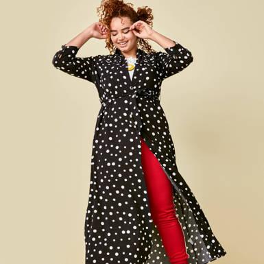 klassieker de maxi-jurk