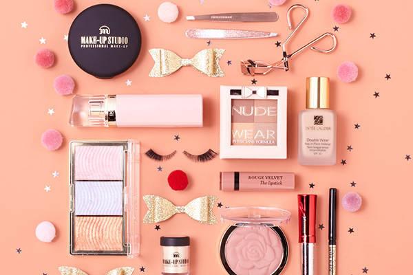 feestelijke geuren en make-up