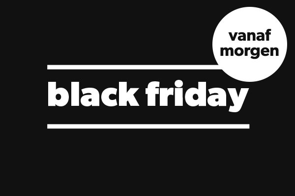 black friday tot 60% korting