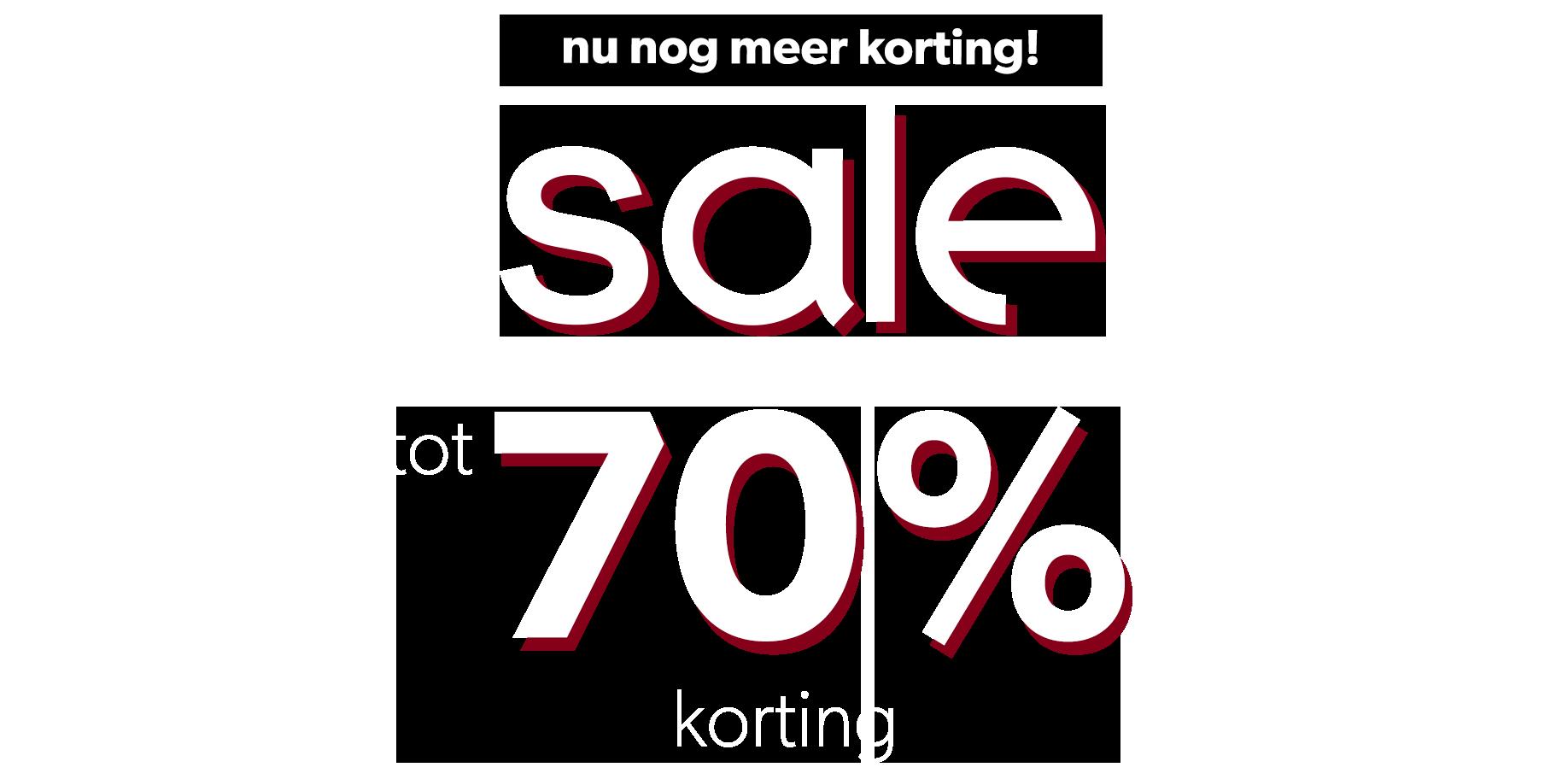 Homepage sale tot 70%